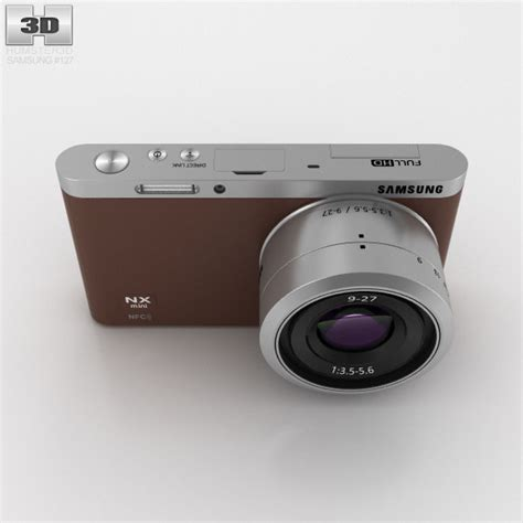 Samsung Nx Mini Smart samsung nx mini smart brown 3d model hum3d