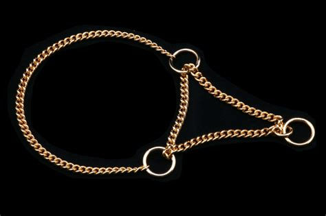 collar chain collar with martingale chain alvalley leashes