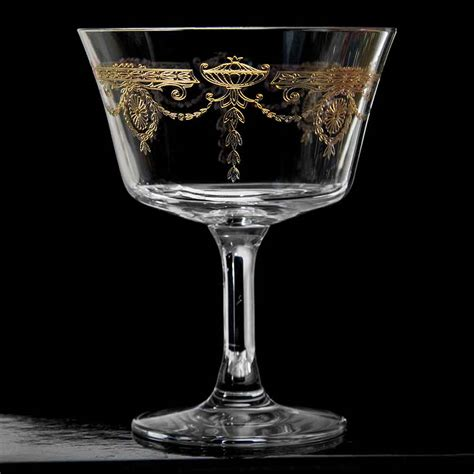 retro cocktail retro fizz 1890 gold cocktail glass click to shop