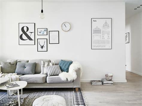 wohnzimmer dekoriert id 233 e d 233 co salon le salon en style scandinave