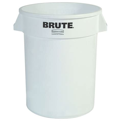 Product Integrity And Resume And Rubbermaid by Rubbermaid Fg262000wht 20 Gallon Brute Trash Can Plastic