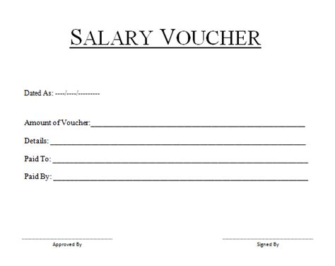 27 sample salary slip format in word templates
