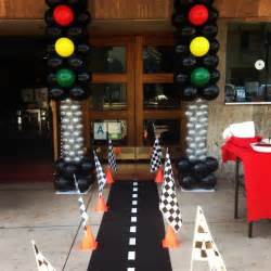 cing themed decorations race car themed ideas