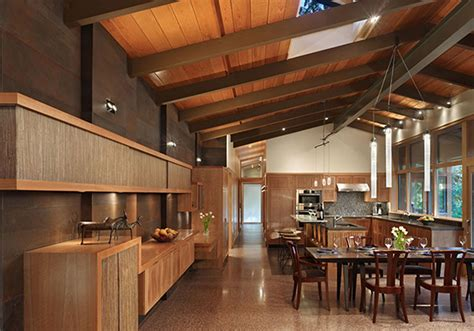 Real Wood House with Forest Environment   Interior