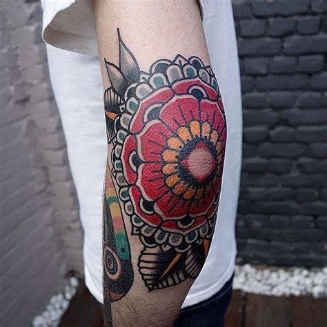 geometric tattoo winnipeg mandala thingy by mors la main bleue in st ghislain
