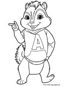 free coloring pages of les chipettes