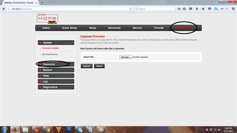 how to change admin password in pldt home dsl wifi router