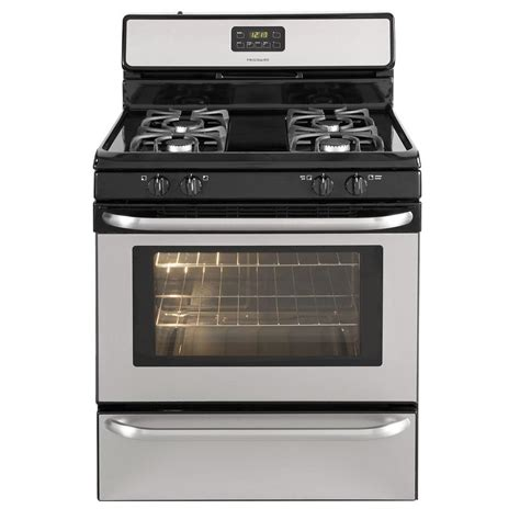 frigidaire 4 2 cu ft gas range in stainless steel