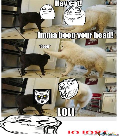 Boop Meme - i ma boop your head by beeboy meme center