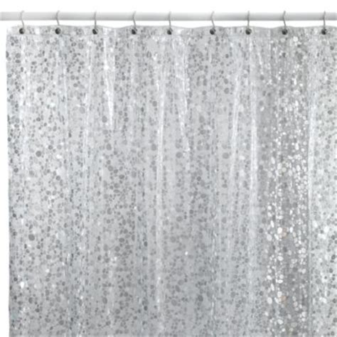 Bath And Beyond Shower Curtains buy silver shower curtain from bed bath amp beyond