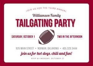 tailgate invitation by touiesdesign on etsy