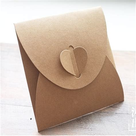 Handmade Envelopes - get cheap brown craft paper envelopes aliexpress