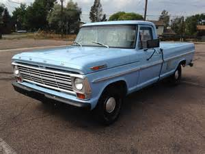 1969 ford f100 for sale blue 1969 ford f 100 truck in