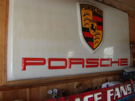bmw dealership sign fs vintage porsche dealership sign pelican parts
