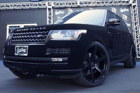 Khloe Kardashian's Velvet wrapped Range Rover Wrapfolio
