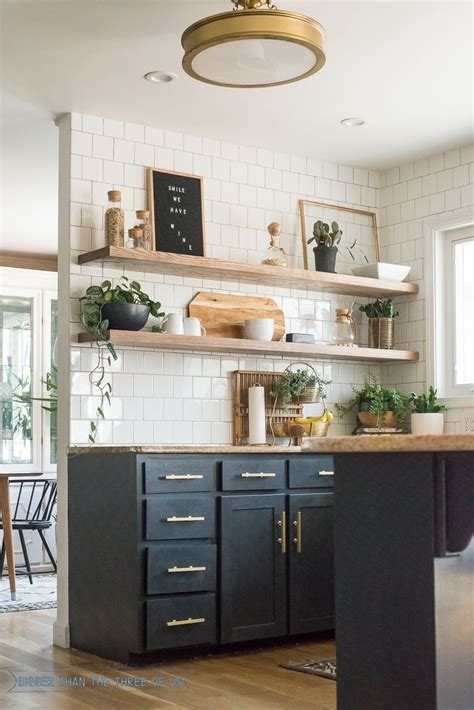 open shelves kitchen 25 best ideas about floating shelves kitchen on pinterest
