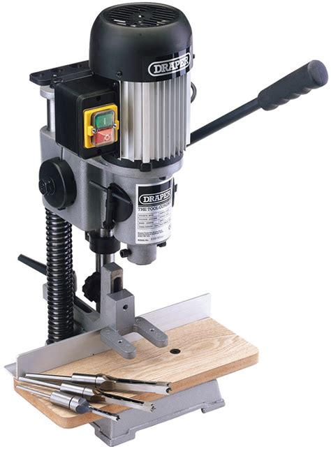 bench morticer quality woodworking tools draper 1 2 quot 370w 230v bench morticer