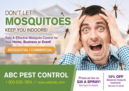 14 Brilliant Pest Control Direct Mail Postcard Advertising