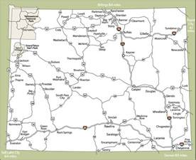 Map Of Wyoming State by Printable Map Of State Map Of Wyoming State Map Free