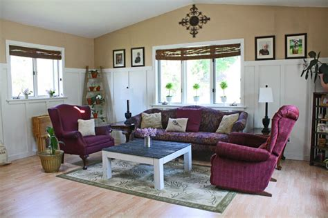 Declutter Living Room by Superwoman Beachy Cottage Bungalow Living Room Remodel