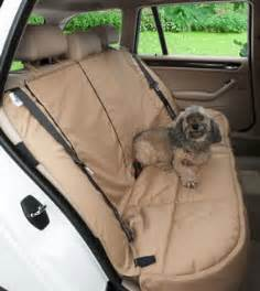 Custom Made Car Seat Covers For Dogs Canine Covers Custom Rear Seat Protector Covercraft