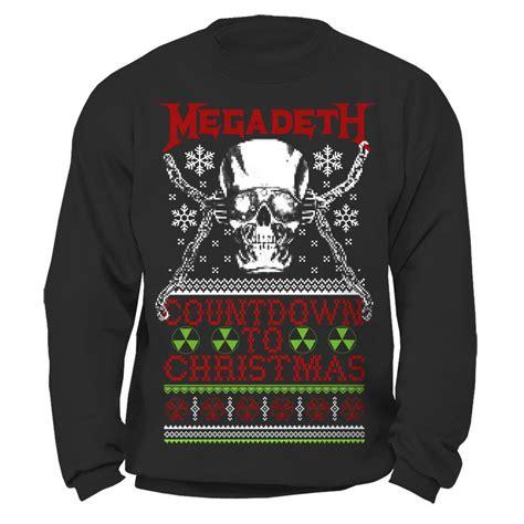 megadeth countdown to sweatshirt