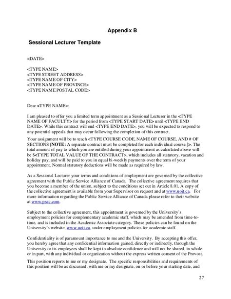 Collective Agreement Letter Of Understanding sle response to union grievance letter docoments ojazlink