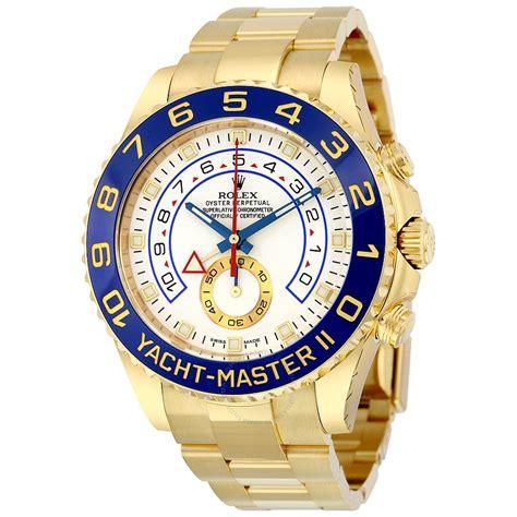 Rolex Yatch Master 2 rolex yacht master ii white 18k yellow gold oyster