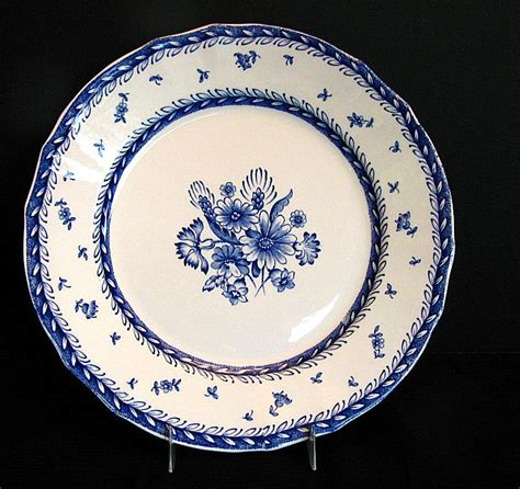 blue and white pattern plates arabia of finland dinner plate blue white quot finn flower