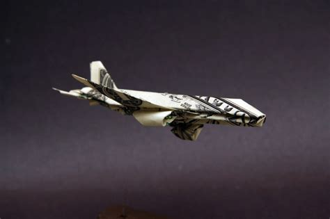 Dollar Bill Origami Airplane - a dollar bill origami airplane b777 taro s origami