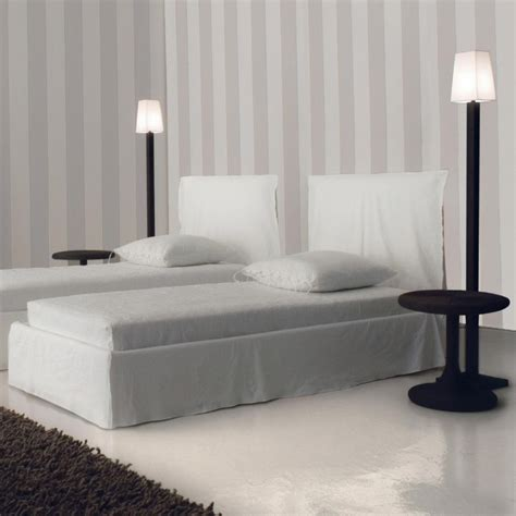 ghost bed ghost 80 s bed with slip cover gervasoni