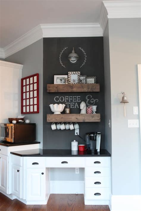 Kitchen Upgrade Ideas 30 charming diy coffee station ideas for all coffee lovers