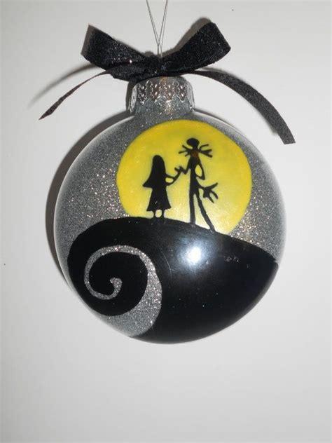 nightmare  christmas couple ornament christmas
