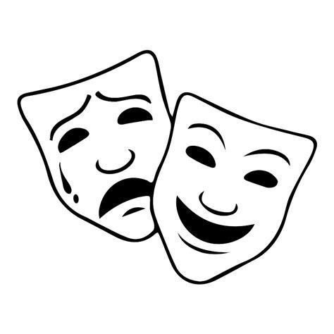 Theatre Mask Outline by Arthur Miller Theater Pilot Program Arthur Miller Foundation