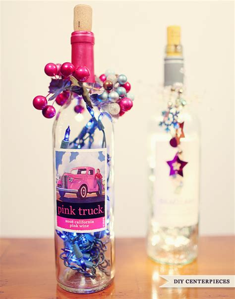 do it yourself centerpieces do it yourself wine bottle centerpieces