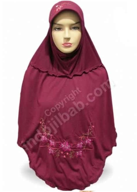 Jilbab Annisa Pita Premium Khimar Annisa Pita Jilbab Anisasyari jual an nisa annisa athurium merah 001 harga dan