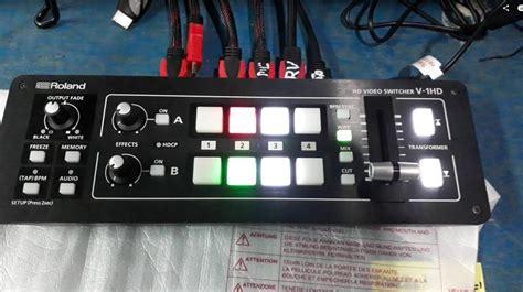 Roland V 1hd Portable 4 X Hdmi Input Switcher roland v 1hd portable 4 x hdmi input switcher v 1hd b h photo