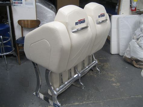 boat bolster seat dual bolster twin marine boat interiors is a