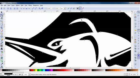inkscape tutorial jpg to vector inkscape image to vector doovi