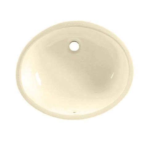 American Standard Undermount Bathroom Sink by American Standard Ovalyn Undermount Bathroom Sink In Bone