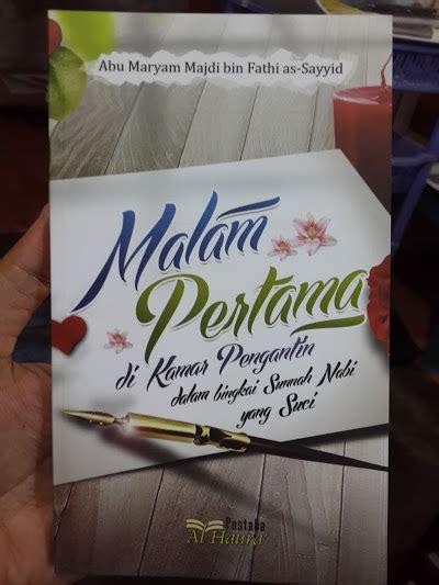 Kode Etik Melamar Calon Istri buku malam pertama di kamar pengantin toko muslim title