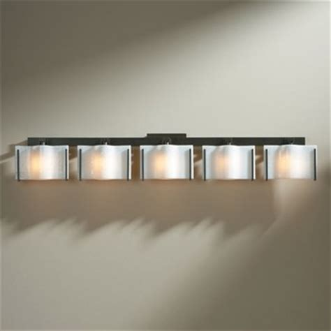 Modern Bathroom Light Bar Hubbardton Forge Exos Wave 5 Light Bath Bar Modern Bathroom Vanity Lighting By Ylighting