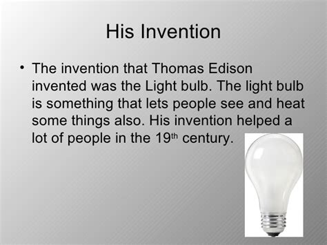 why is the light bulb important edison the most important inventor of the 19th century