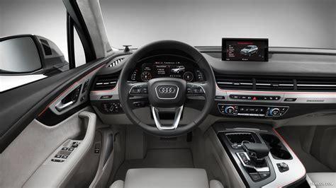 Wallpaper Home Interior by 2016 Audi Q7 Interior Hd Wallpaper 17