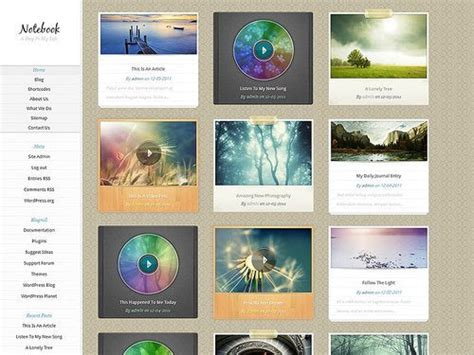 notebook layout word 2015 notebook wordpress theme review download demo support