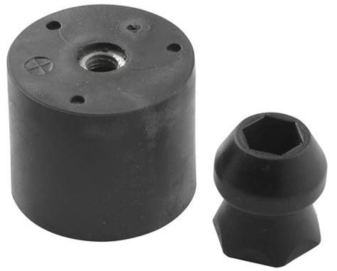and socket door holder plastic stem and rubber socket door holder 1 quot stem