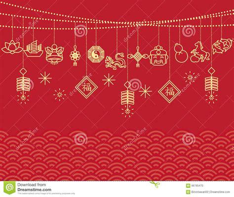 new year background card new year background card print stock vector