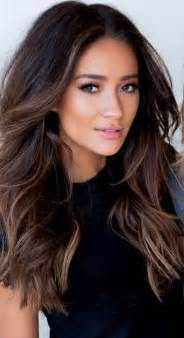 hairstyles for 50 for brown hair and highlights 25 best ideas about highlights for dark hair on pinterest