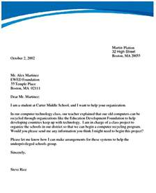 Template For Letter Writing by Letter Writing Formal Formal Letter Template
