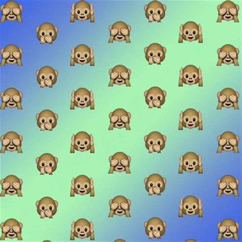 wallpaper emoji monkey monkey emojis tumblr